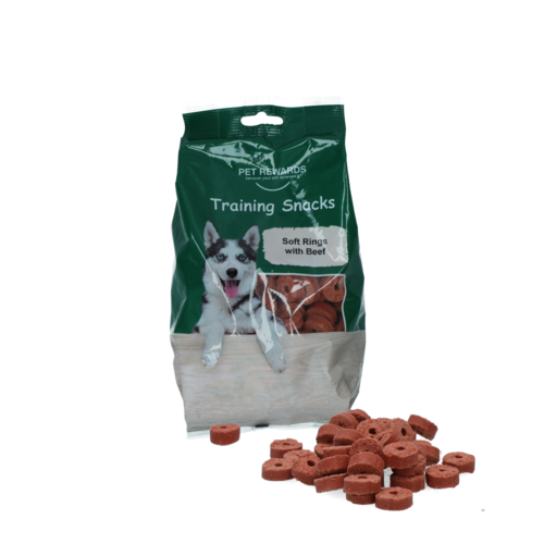 Pet Rewards Soft rings with beef