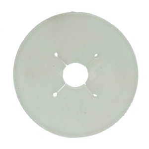 Vplast Bitschijf Paard 90 mm transparant