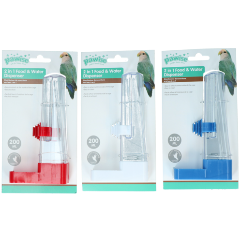 Pawise Fountain and Feeder, 200 ml/16 cm