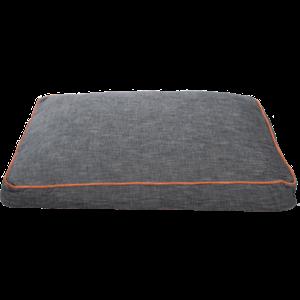 KONG Rectangle Beds Medium, Grijs met oranje lijn
