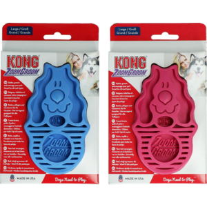 KONG KONG ZoomGroom Rassberry Large