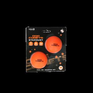 Dog Comets Dog Comets Ball Stardust Oranje M 2-pack