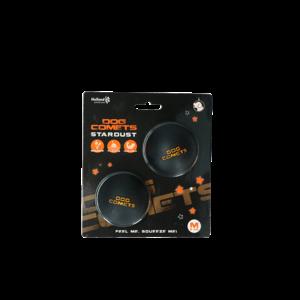 Dog Comets Dog Comets Ball Stardust Zwart Oranje M 2-pack