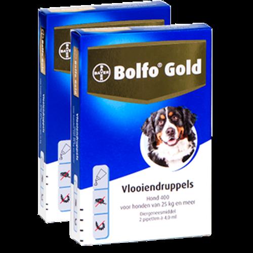 Bolfo Bolfo Gold 400 hond (>25 kg) - 2 pip