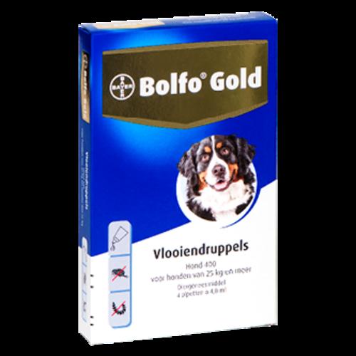 Bolfo Bolfo Gold 400 hond (>25 kg) - 4 pip