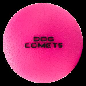 Dog Comets Dog Comets Ball Stardust Zwart Roze M 2-pack
