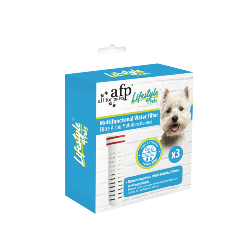 AFP AFP Lifestyle 4 Pet-Multifunctional Water Filter Replacement