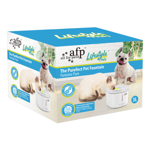 AFP AFP Lifestyle 4 Pet-The Purefect Pet Fountain - 3 Liters