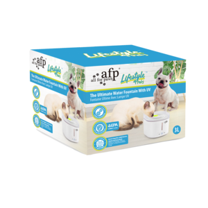 AFP AFP Lifestyle 4 Pet-The Ultimate Pet Fountain With UV