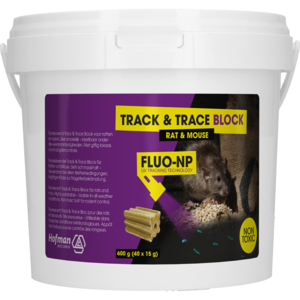 Holland Animal Care Track & Trace Block Fluo-NP (40x15g)