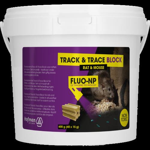 Hofman Pest Control Track & Trace Block Fluo-NP (40x15g)
