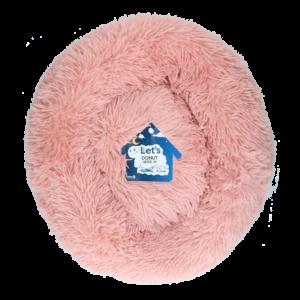 Let's Let's Sleep Donut M Beige Roze