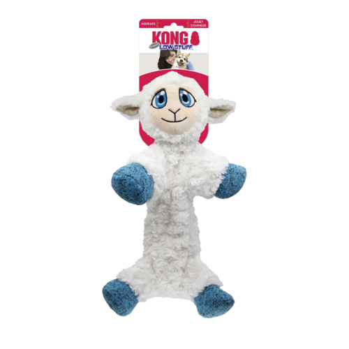 KONG KONG Low Stuff Flopzie Lamb Md