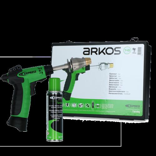 Express Express Arkos pistool onthoorner kalf/geit op gas 15 mm