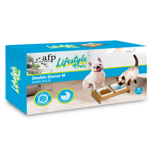 AFP AFP Liftstyle4Pets - Double Dinner - M
