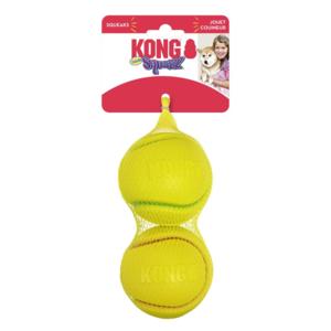 KONG KONG Squeezz® Tennis Assorted Lg 2pk