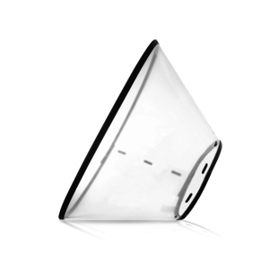 Zenpet Zenpet E-Clear Plastic E-Collar Medium