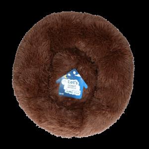 Let's Let's Sleep Donut 50 cm Bruin