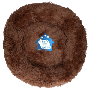 Let's Let's Sleep Donut 60 cm Bruin