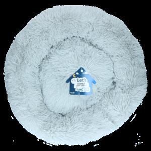 Let's Let's Sleep Donut 60 cm Licht Grijs