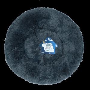 Let's Let's Sleep Donut 50 cm Donkergrijs
