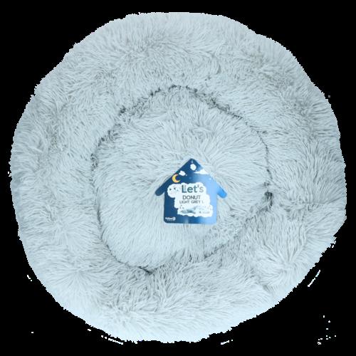 Let's Let's Sleep Donut 60 cm Lichtgrijs