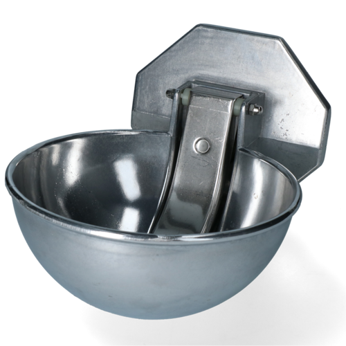 Excellent Drinkbak Aluminium met RVS lepel