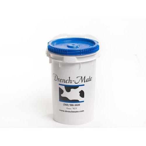 Drench-Mate emmer & blauwe deksel