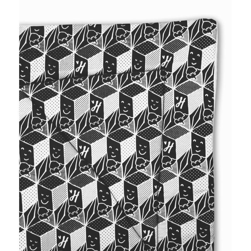 Hangloose Baby - babyhangmat / boxkleed - Black and White edition