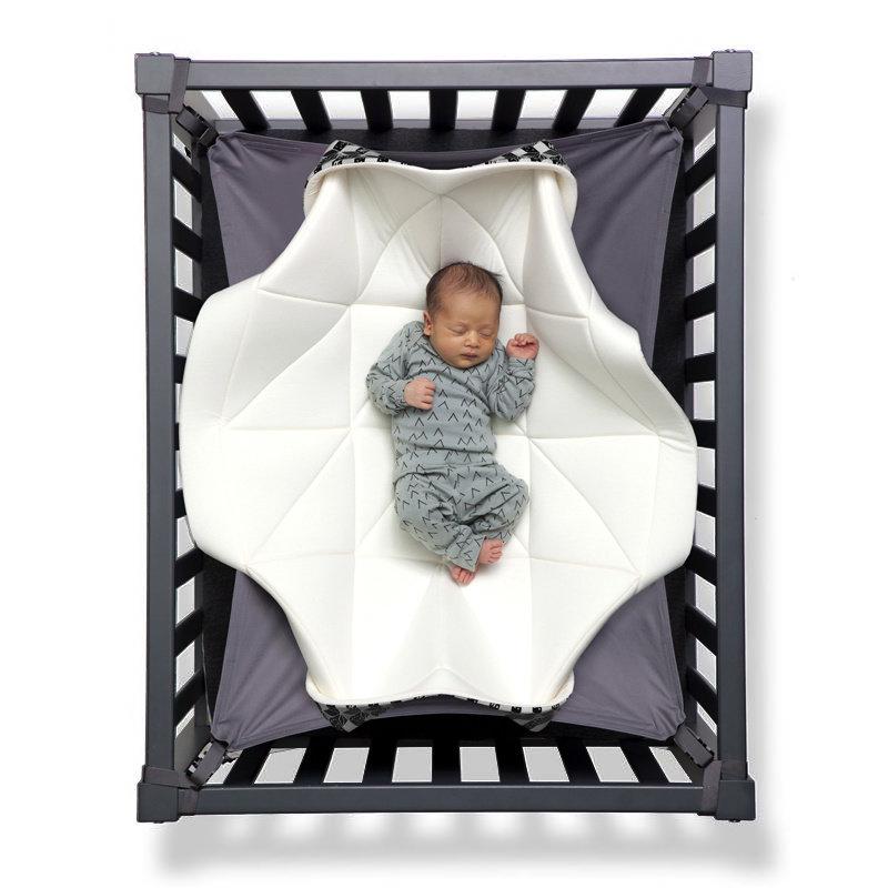 Hangloose Baby - Babyhängematte / Krabbeldecke - Black and White Edition