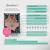 Hangloose Baby - babyhangmat / boxkleed - Pinky Feather