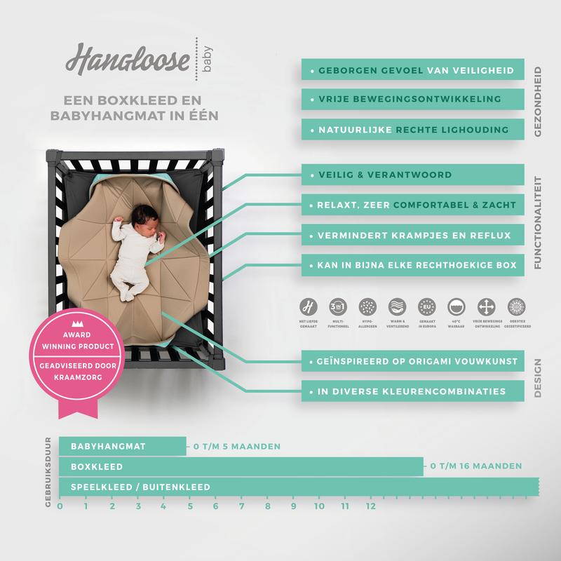 Hangloose Baby - Babyhängematte / Krabbeldecke - Baby Beach
