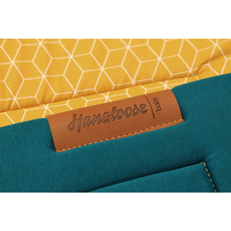 Hangloose Baby hammock Petrol Ocher Yellow