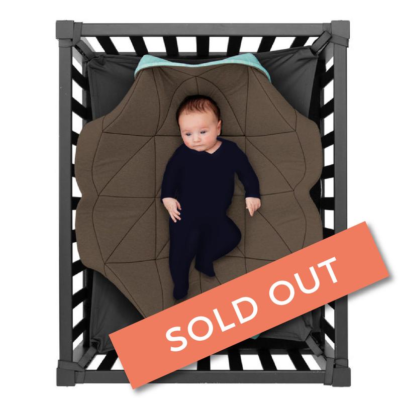 Hangloose Baby - babyhangmat / boxkleed - Baby Taupe