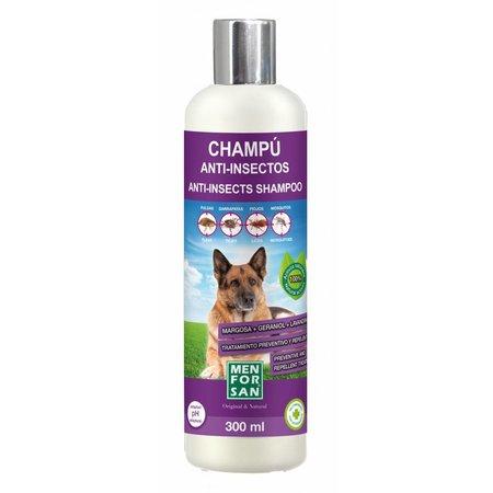 Menforsan Medio week  26 leverbaar! Shampoo tegen o.a. vlooien en teken met natuurlijke extracten