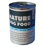 Nature Dogfood  Nature Dogfood blikvoeding voor honden met eend, zalm, garnalen en spinazie