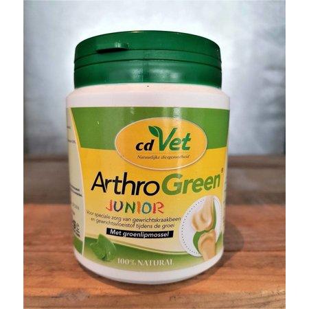 Arthro Green Junior met groenlipmossel voor optimale groei van skelet en gewrichten van jonge honden