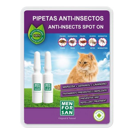 Menforsan Menforsan Spot-on Anti parasieten pipet voor katten