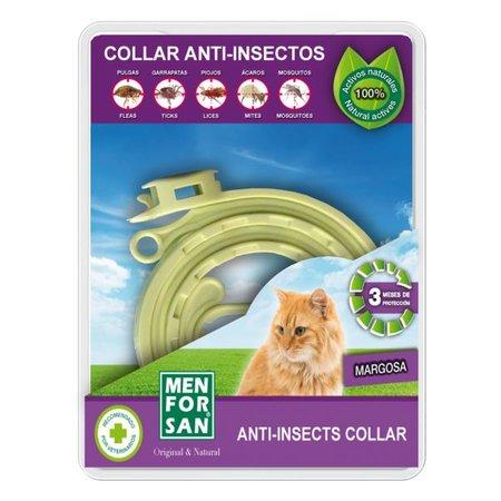 Menforsan  Anti-vlooien en tekenband met uitsluitend natuurlijke ingrediënten voor katten