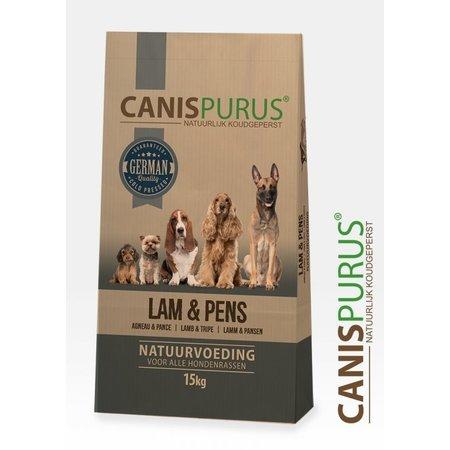 Canis Purus Koud geperste brok van Lam en pens
