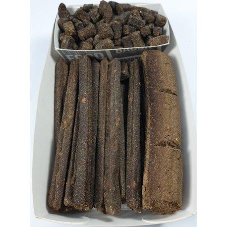 Holland Petfood Menu bakje met sticks, take & break en trainers van insectenmeel en biologische pompoen