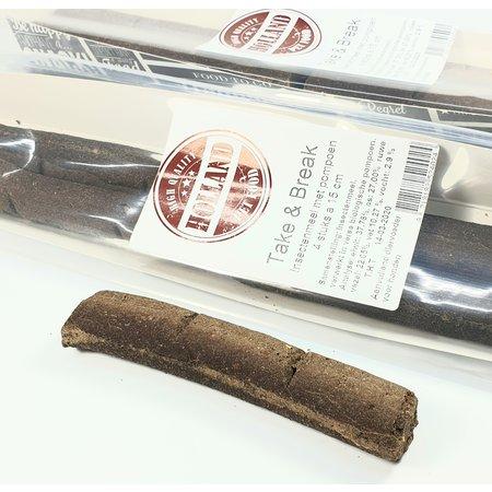 Holland Petfood Take & Break Stick van insectenmeel en biologische pompoen