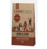 Canis Purus Koud geperste brok van Rund & Eend