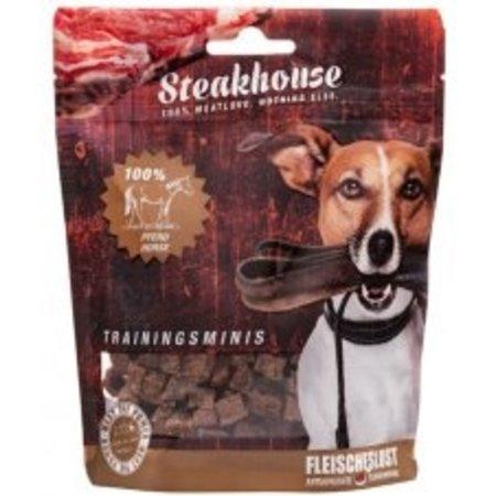 Meat Love  LEVERBAAR BEGIN WK 25   Mini's om te trainen van 100% paardenvlees