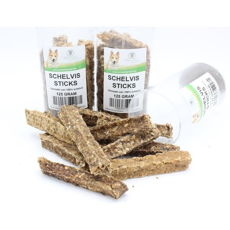 Ozzlesdogfood  Krokante sticks van 100% schelvis