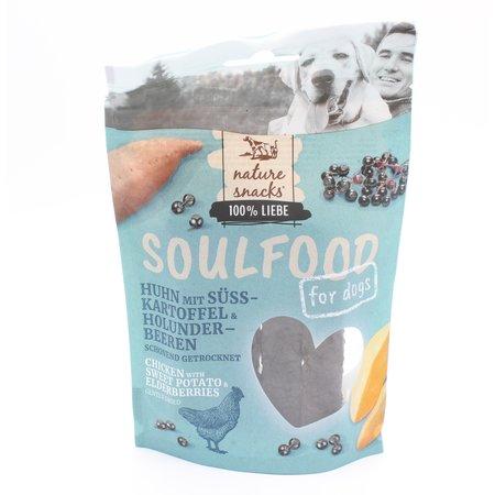 Soulfood Nature Snacks / Soulfood 100% kipvlees sticks met sweet potatoe en elderberries