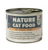 Nature Catfood Nature Cat Food blikvoer met kip, kalkoen en kruiden