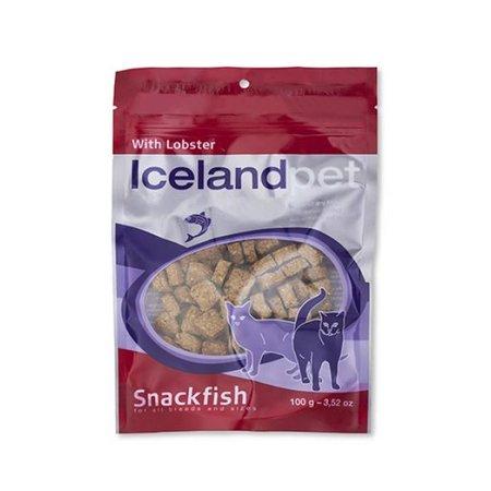 Icelandpet Icelandpet vis snoepjes voor katten van kreeft