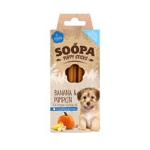 Dental STICKS Puppy van pompoen en banaan