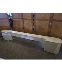 Auping Auronde Wit achterwand 180 cm